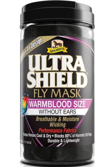 Absorbine Ultra Shield Warmblood Fly Mask W/O Ears