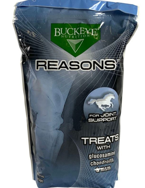 Buckeye Nutrition Reasons Joint Support Treats, 4 Lbs.
