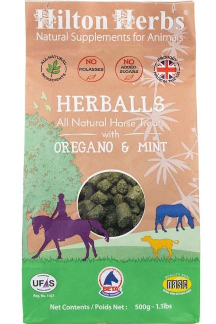 Hilton Herbs Herballs Treats, Oregano/Mint, 1.1 Lbs.