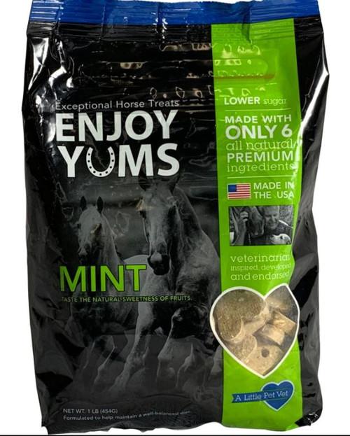 Enjoy Yums Horse Treats, Mint