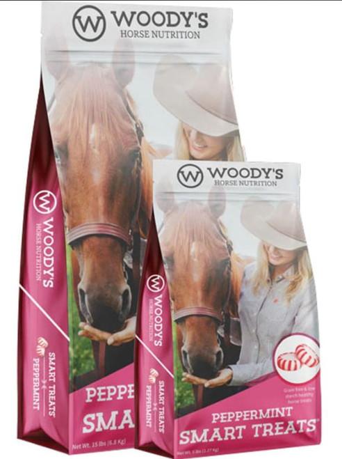 Woody's Horse Nutrition Smart Treats, Peppermint