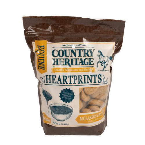 Country Heritage Heartprints Molasses Horse Treats, 30oz. Bag