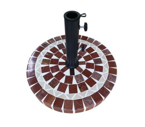 Seasonal Trends Mosaic Umbrella Base
