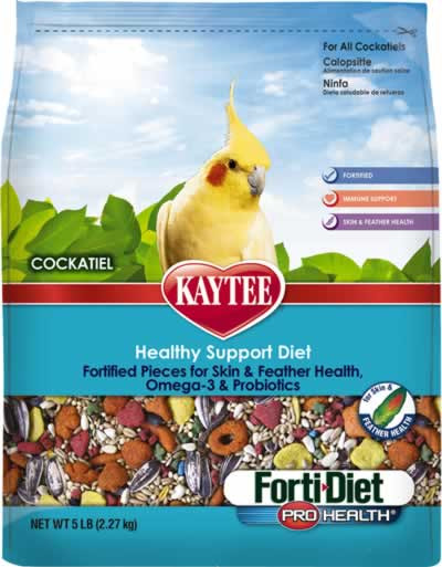 Bird Parrot Pet Food Grain Kaytee Diet Pro Health Brain Heart Feather Skin 5 lb