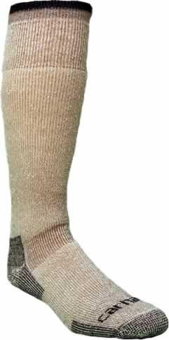 Carhartt Men s Arctic Wool Heavyweight Brown Boot Socks - CountryMax 6e7a65317e6