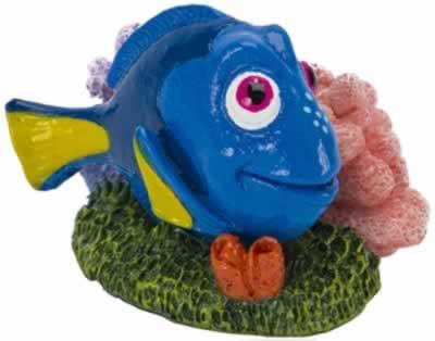 Penn Plax Disney Finding Nemo Mini Dory Aquarium Ornament