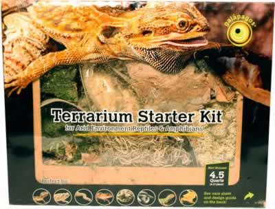 Galapagos Terrarium Starter Kit Arid Environment Countrymax