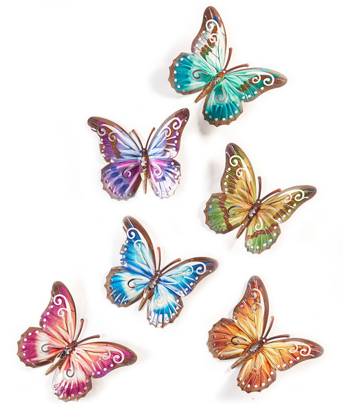 Giftcraft Butterfly Design Wall Decor Countrymax