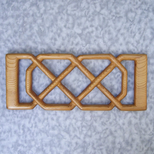 Empress Josephine's Love Knot - Wood Carved Celtic Knot