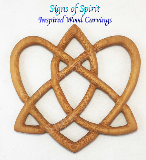 Trinity Love Knot by Signs of Spirit