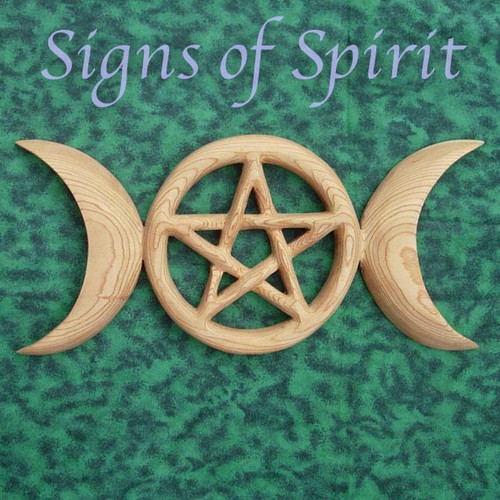 Triple Moon Pentacle - Celtic Goddess Symbol and Holistic Relationship Between Human Spirituality and Physical Universe
