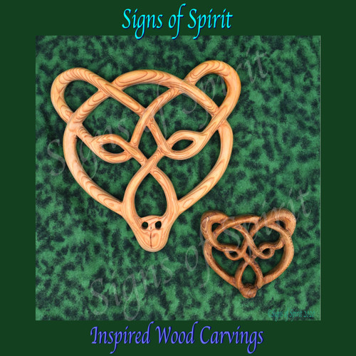 Celtic Bear Knots by Signs of Spirit