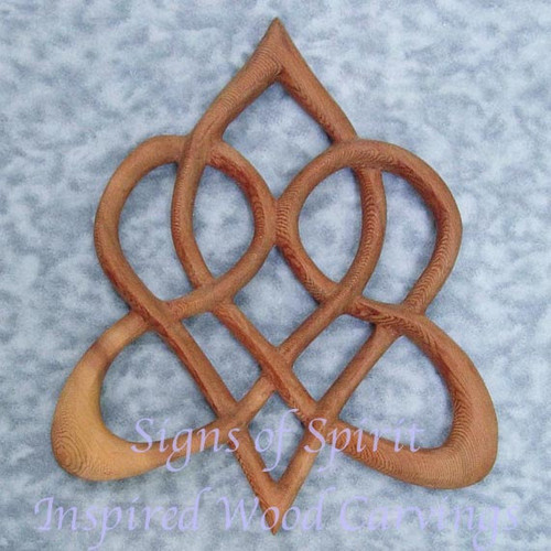 Stylized Celtic Heart Knot of Everlasting Love by Signs of Spirit