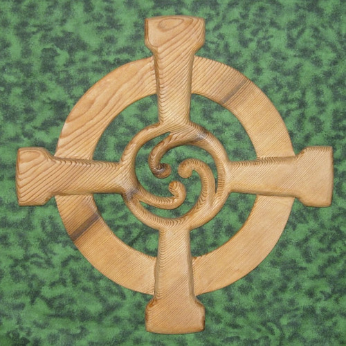 Celtic Wheel Cross by Signs of Spirit