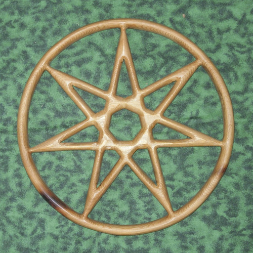 Fairy Star of Enchantment wood carving by Signs of Spirit.