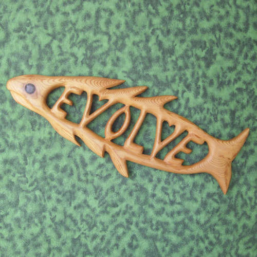 Symbol of Intelligent Design wood carving by Signs of Spirit.