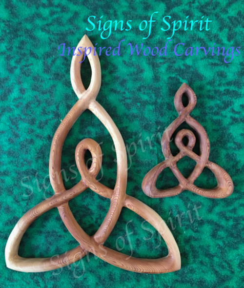 Miniature Mother and Child Celtic Knot by Signs of Spirit