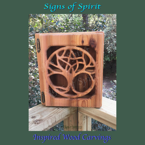 Druid Tree Pentacle Cabinet by Signs of Spirit