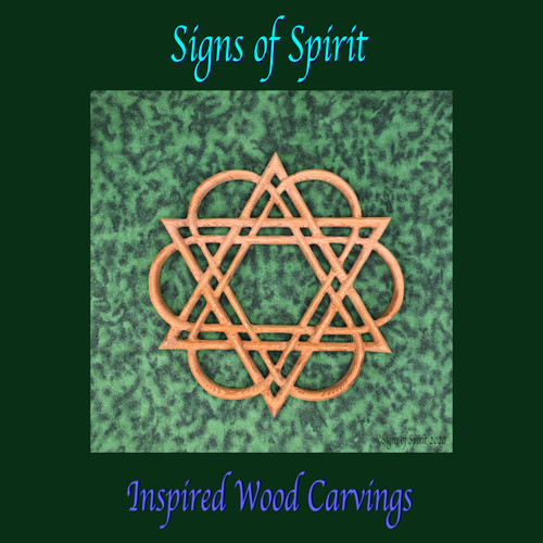 Star of David Healing Knot by Signs of Spirit