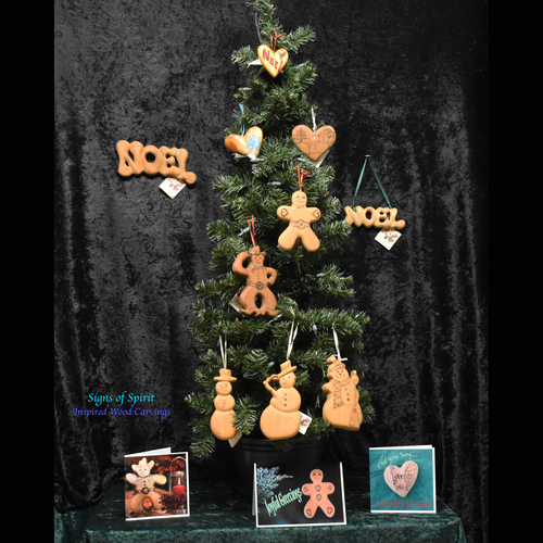Christmas Tree Ornaments from Signs of Spirit