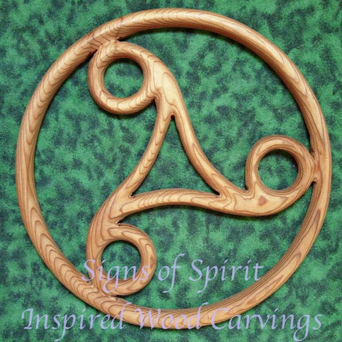 Celtic Triskele Wall Hanging by Signs of Spirit