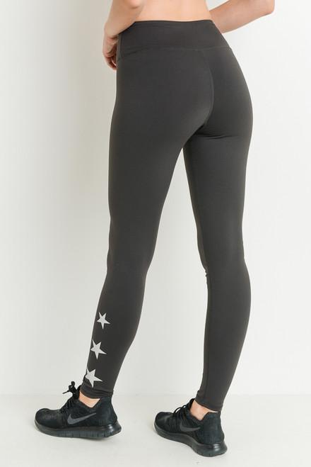 Triple Star Full Length Charcoal Grey Leggings