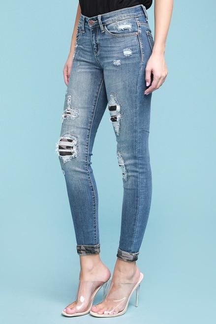 Judy Blue Camo Patch Jean