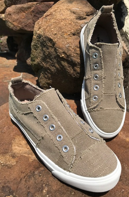 Corkys Taupe Sneaker