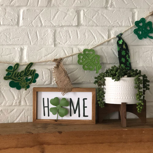 A Quick St. Patrick's Day Garland