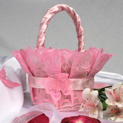 Lovely Lace Basket