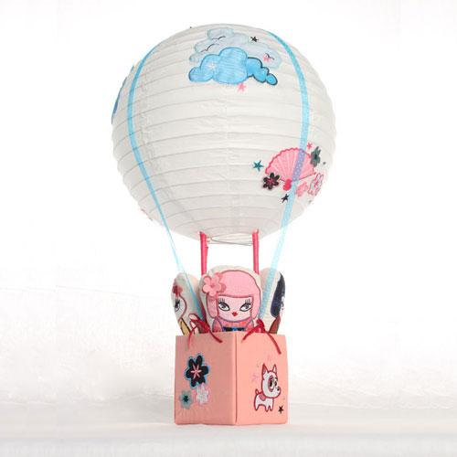 Kimono Cuties Hot Air Balloon