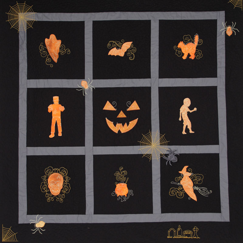 Halloween Couture Quilt