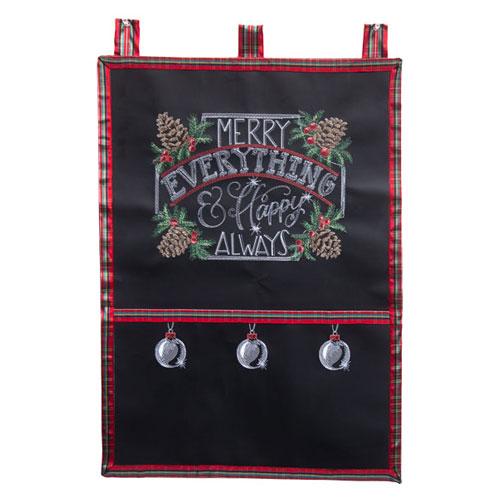 Chalkboard Christmas Card Catcher
