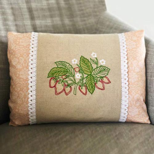 Heirloom Garden Pillow Wrap