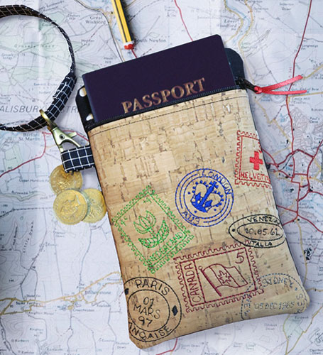 Travel Passport Pouch