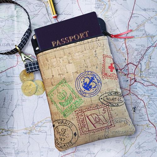 Travel Passport Pouch