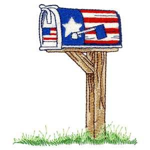 USA Mailbox Design