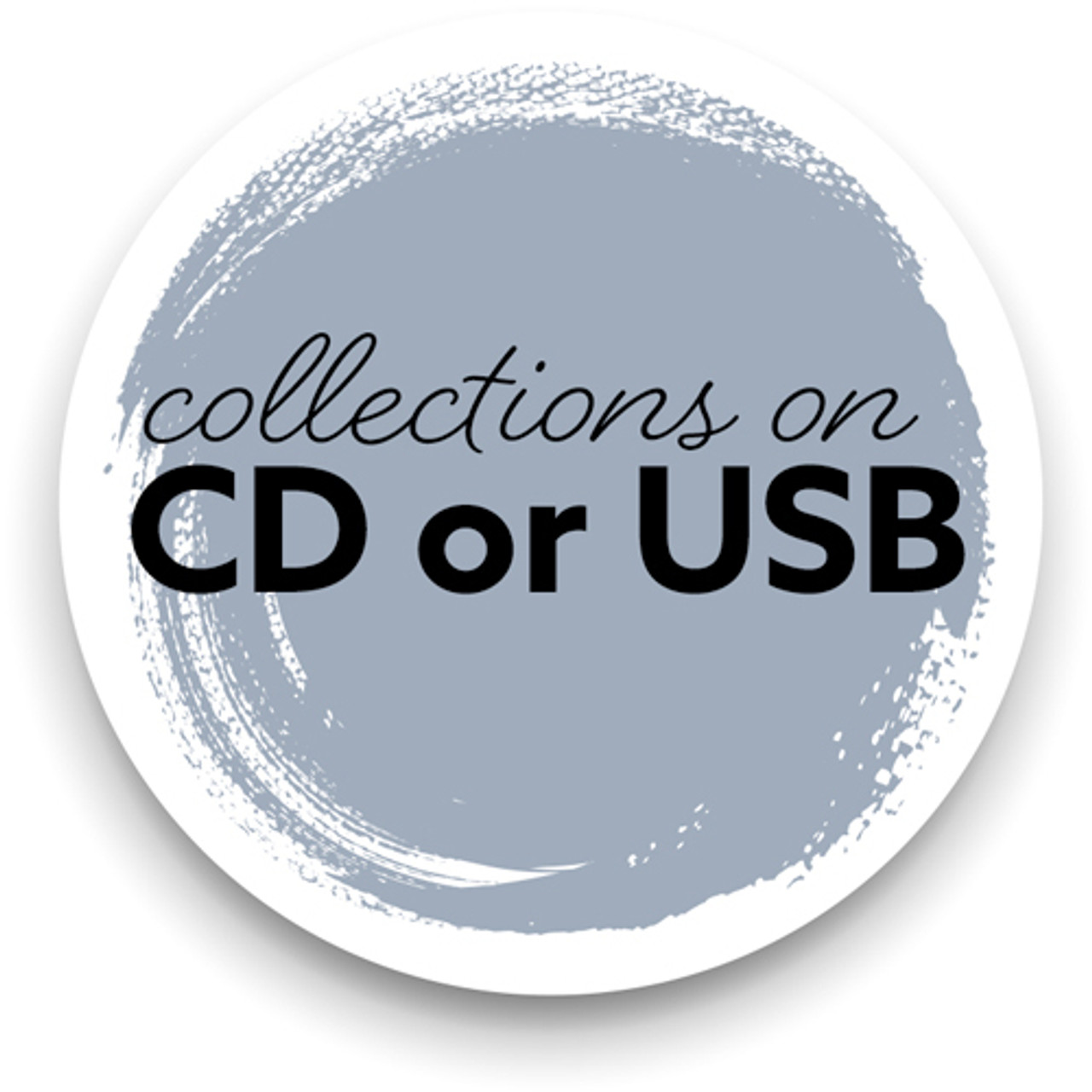 Collections on CD or USB