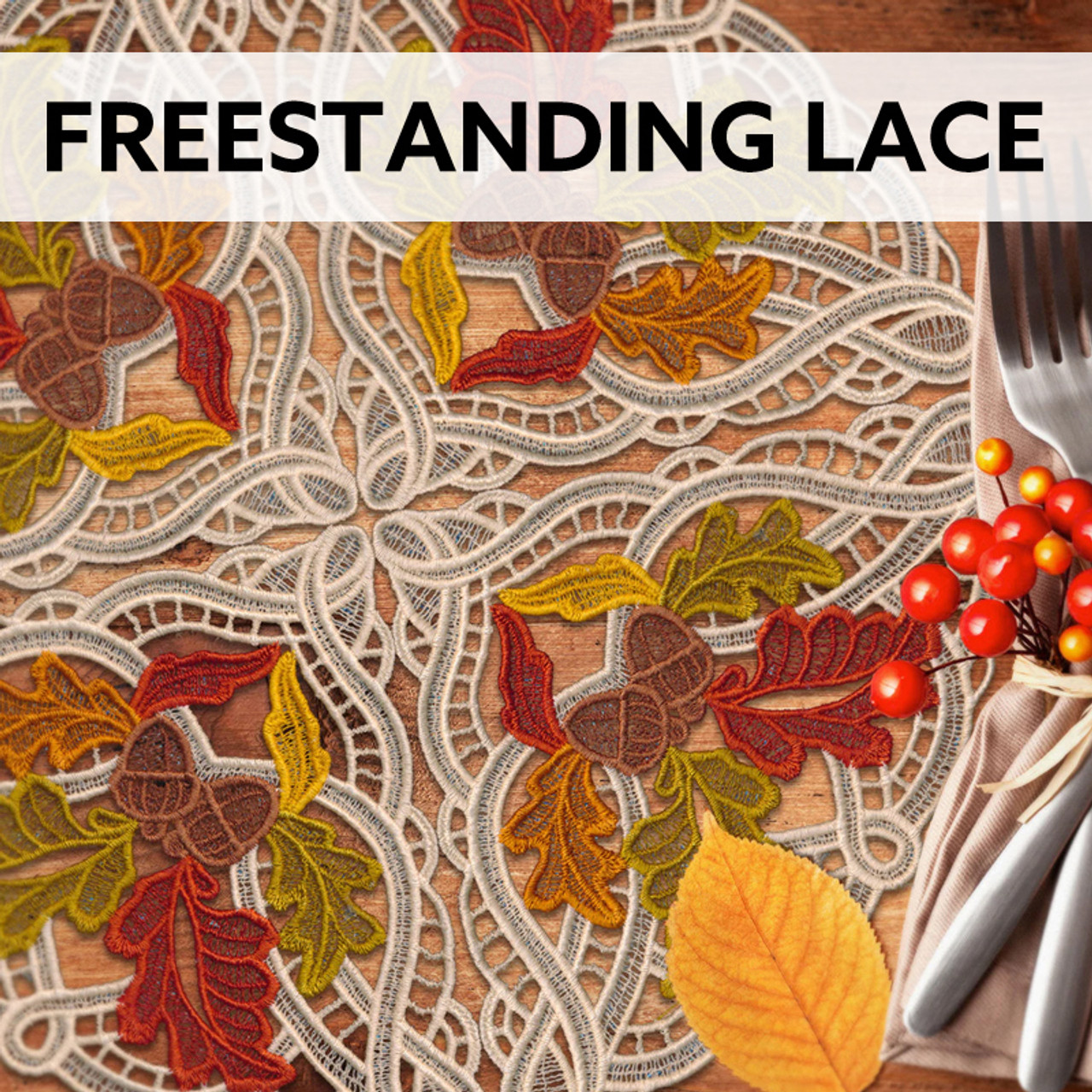 Freestanding Lace