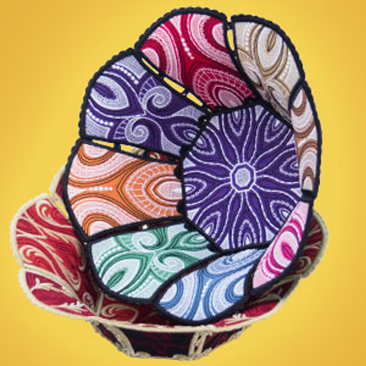 Freestanding Fabric Bowls