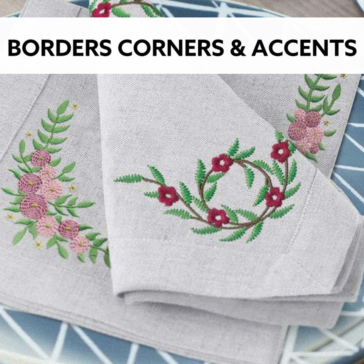 Borders Corners & Accents