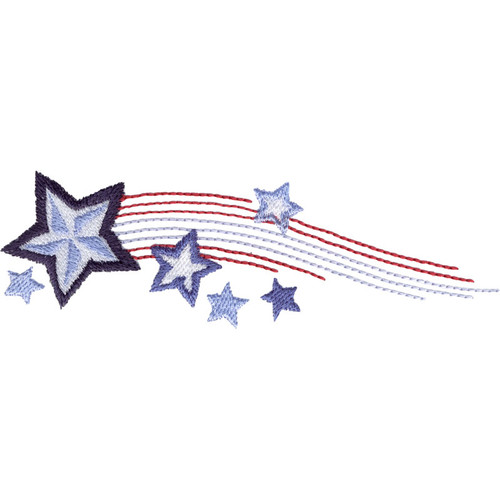 Stars & Stripes Border | HG453_48