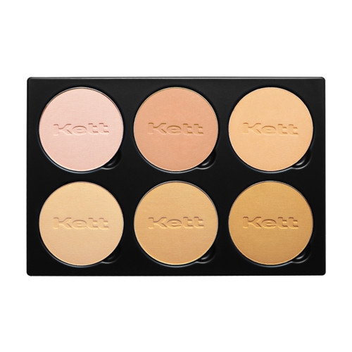 Kett Fixx Powder Foundation Pro Palette Light Medium