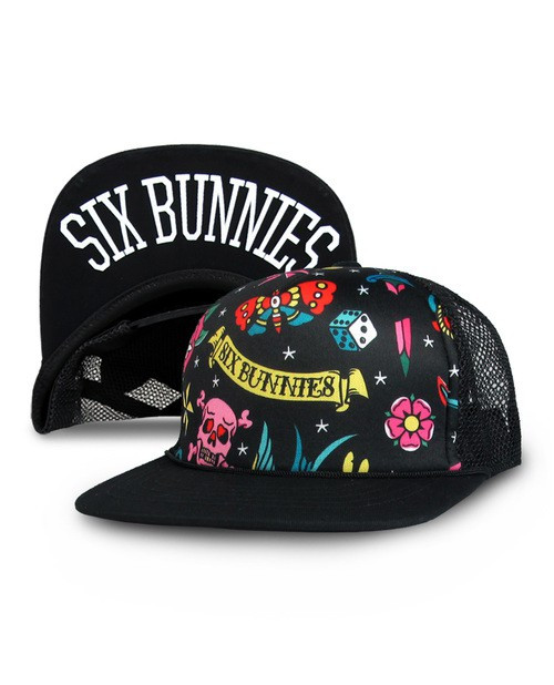 Six Bunnies Cute Flash Kid's Cap