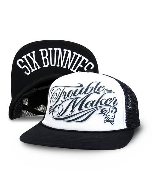 Six Bunnies Trouble Maker Kid's Cap
