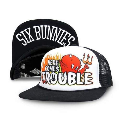 Six Bunnies Here Comes Trouble Kid's Cap