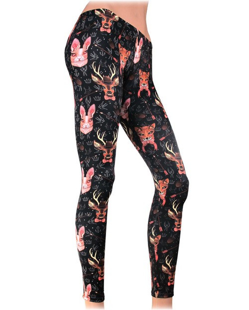Liquor Brand Forest Animal Legging