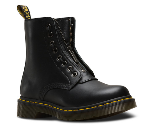 Dr. Martens 1460 Pascal Front Zip Black Nappa  DR-23863001