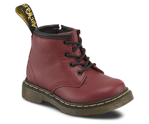 Dr. Martens Infant 1460 Cherry Red Softy T  DR-15933602