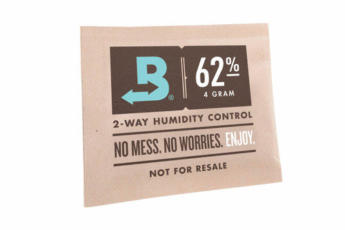 Boveda 2-Way Humidity Control 62% 4Gram  BOVEDA-62-4